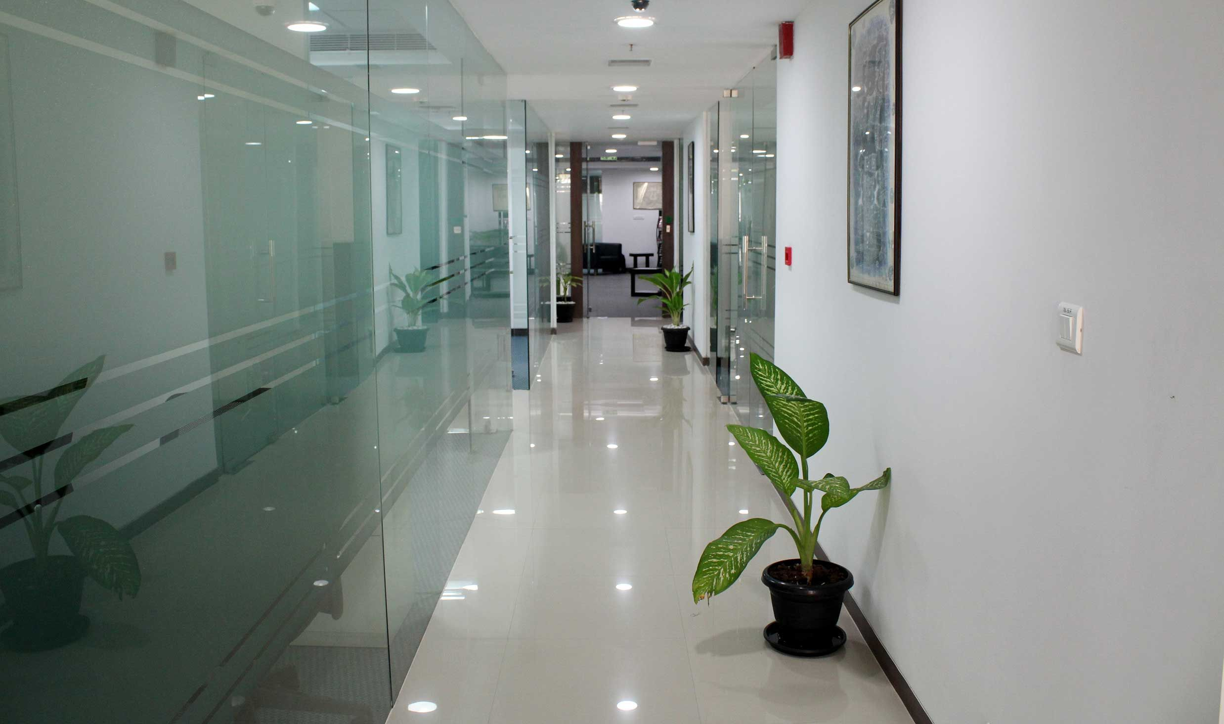Awesome Corridor at iKeva Business Center in Hyderabad business