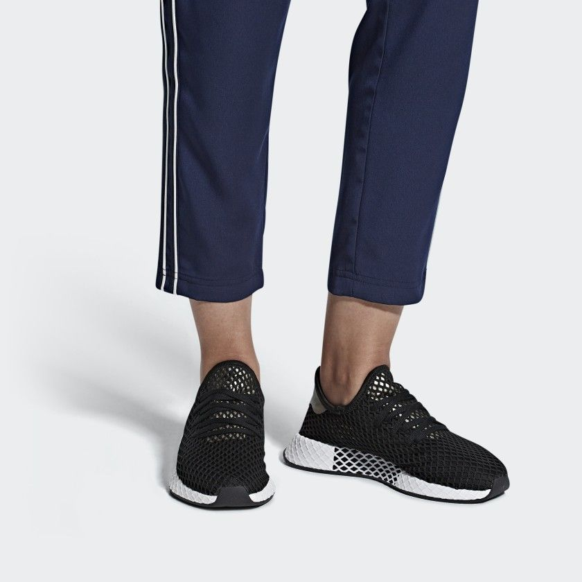 Deerupt Shoes in 2019 | Black adidas shoes, Shoes, Adidas