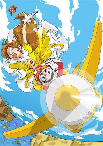 mario rescues princess daisy of sarasaland from the alien