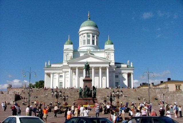 Finland Photo Gallery: Cathedral in Helsinki