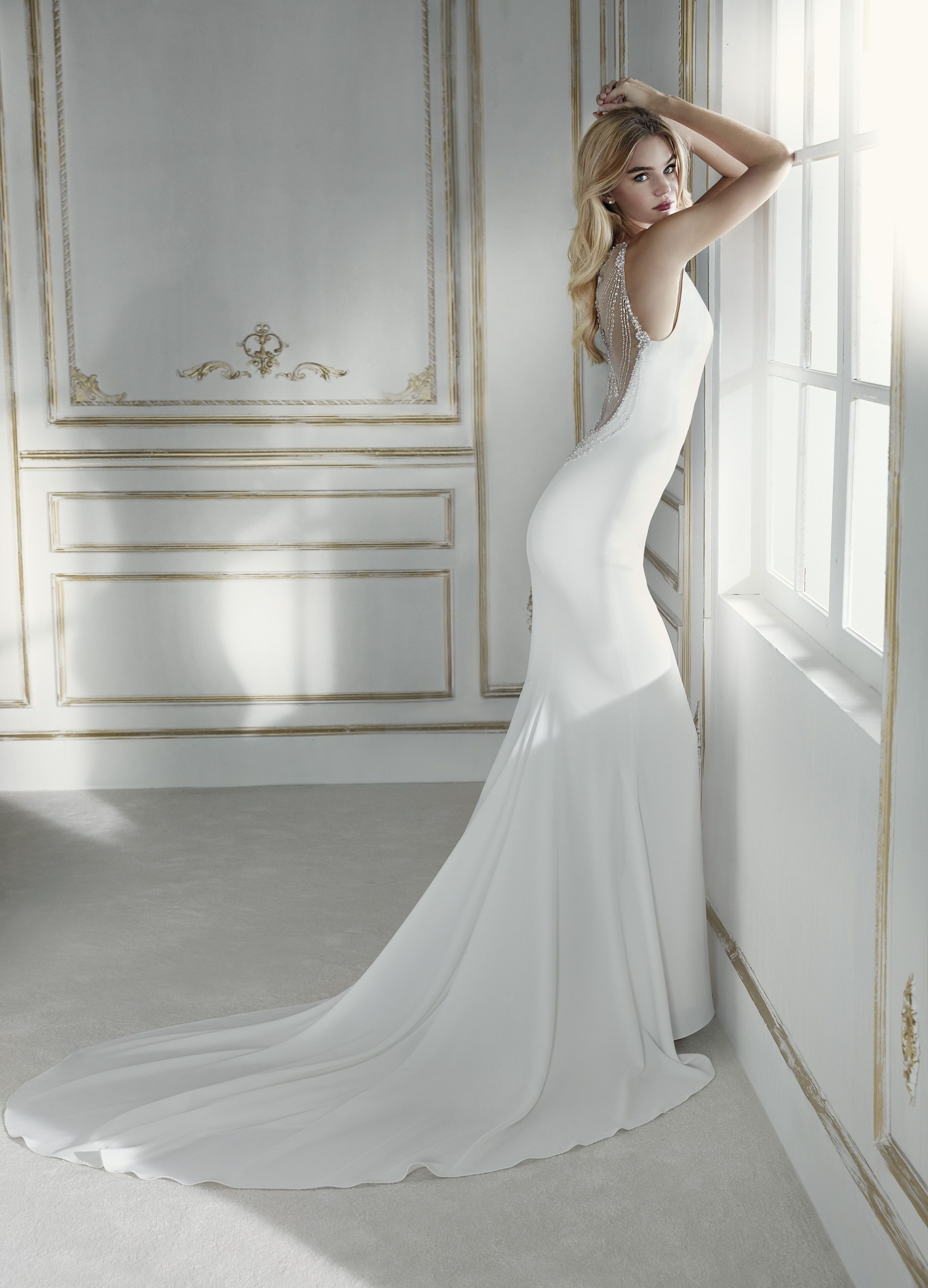 Meet Our Newest Designer Gown Palermo From The Collection By Lasposa Thistles Ie Galway Wedding Dresses Wedding Dress Prices La Sposa Wedding Dresses