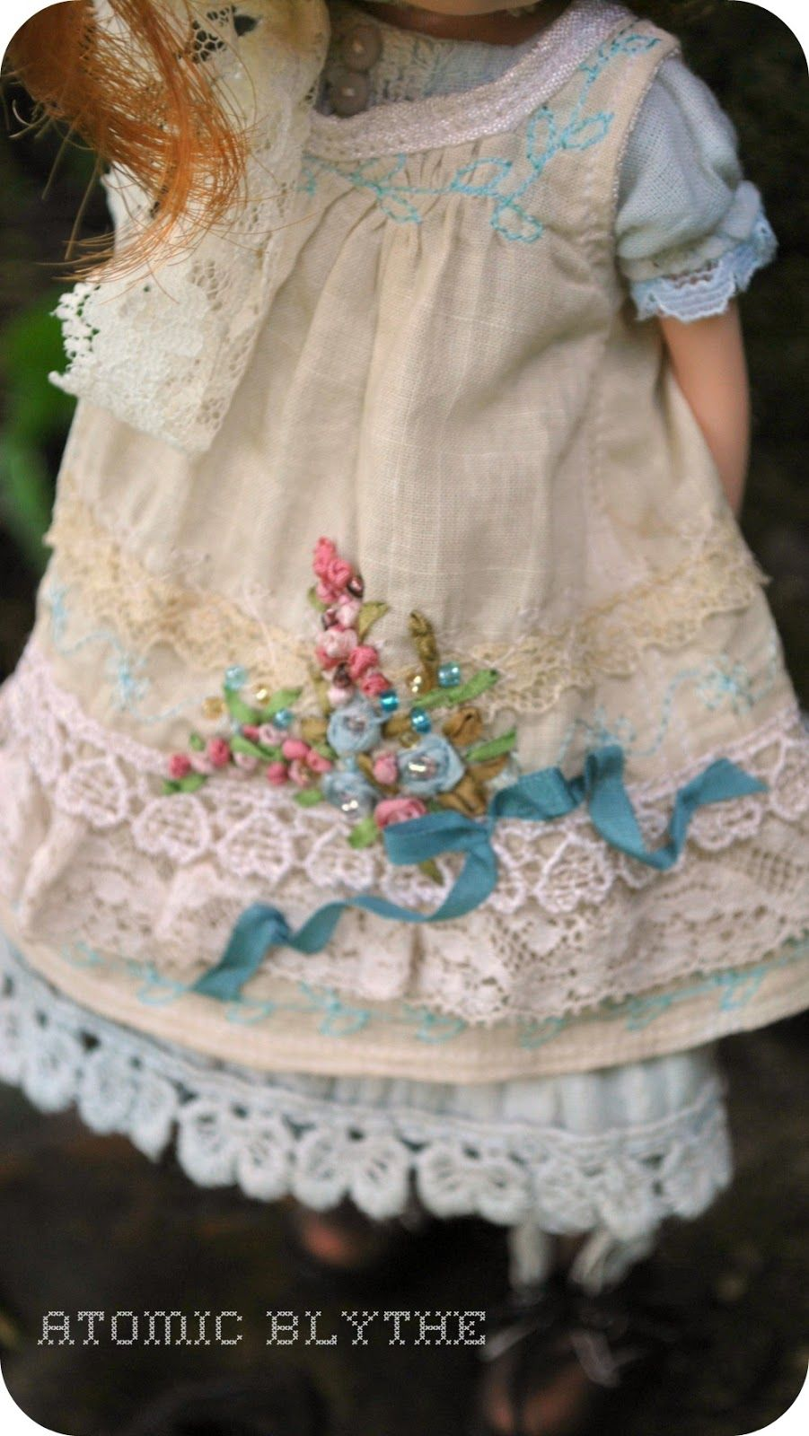 Atomic Blythe Couture What a little piece of work this is!