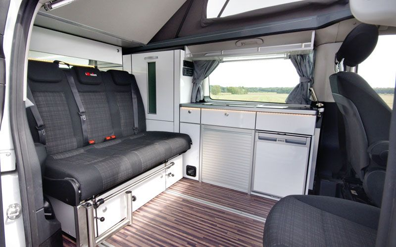 reimo campingbus ausbau triostyle auf basis mercedes vito. Black Bedroom Furniture Sets. Home Design Ideas