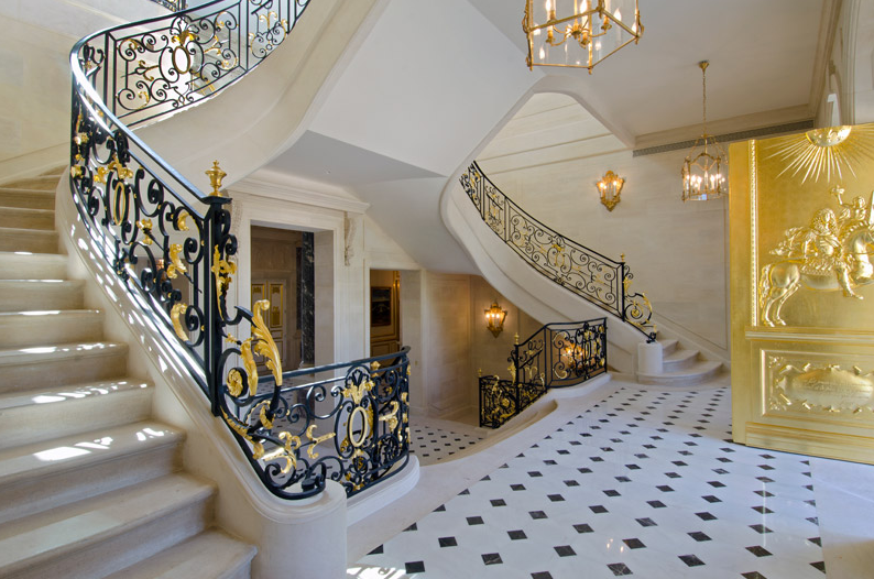 Chateau louis xiv a jaw dropping newly built castle in france homes of the rich the webs 1 luxury real estate blog