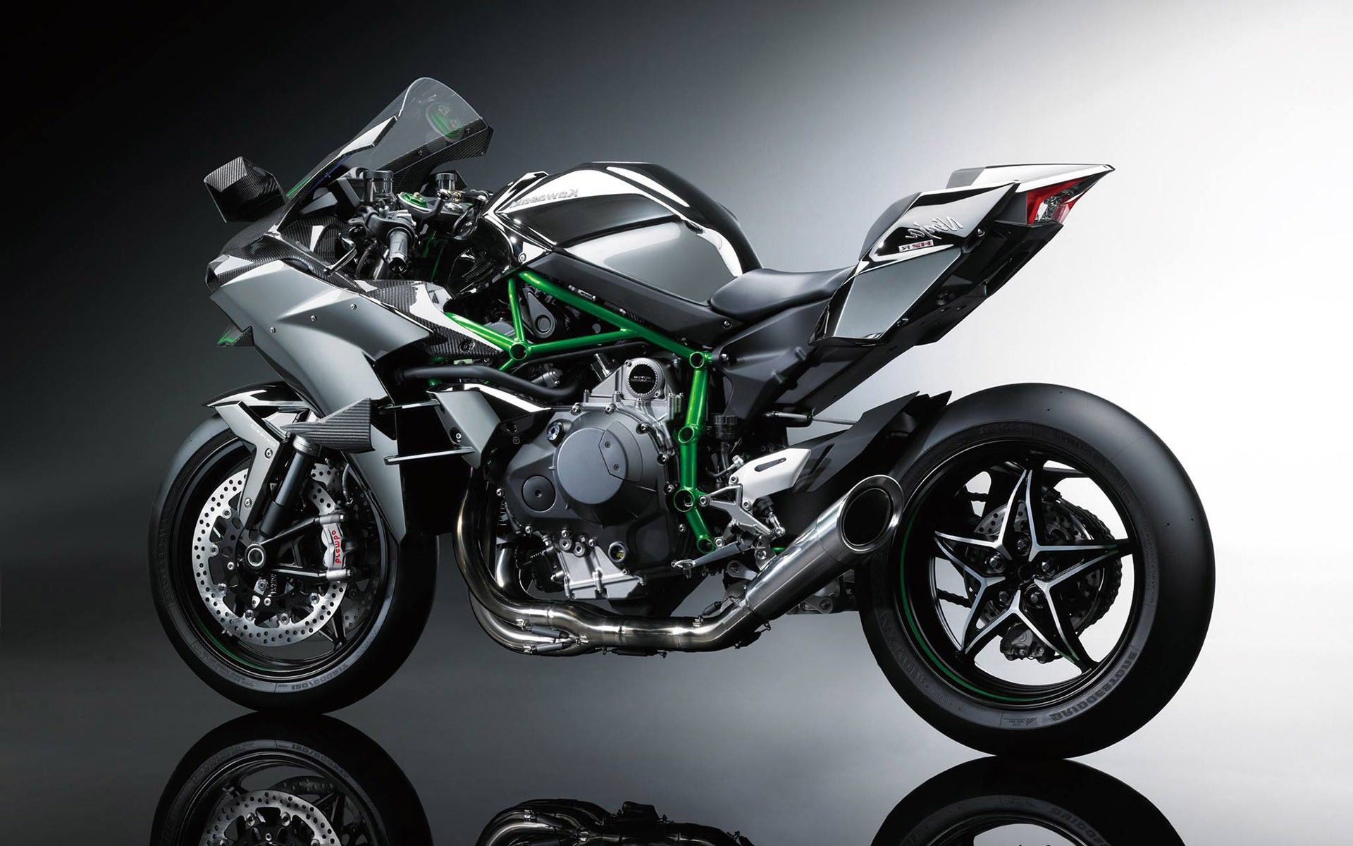 17 Best Images About Kawasaki Ninja H2 Wallpaper On Pinterest