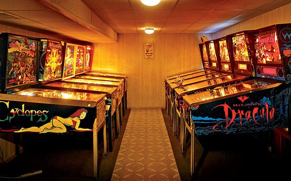 Inspirational Arcade Games for Basement