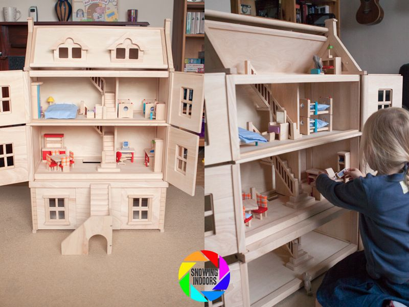 Plan Toys Victorian Doll House Review Dollhouses Pinterest