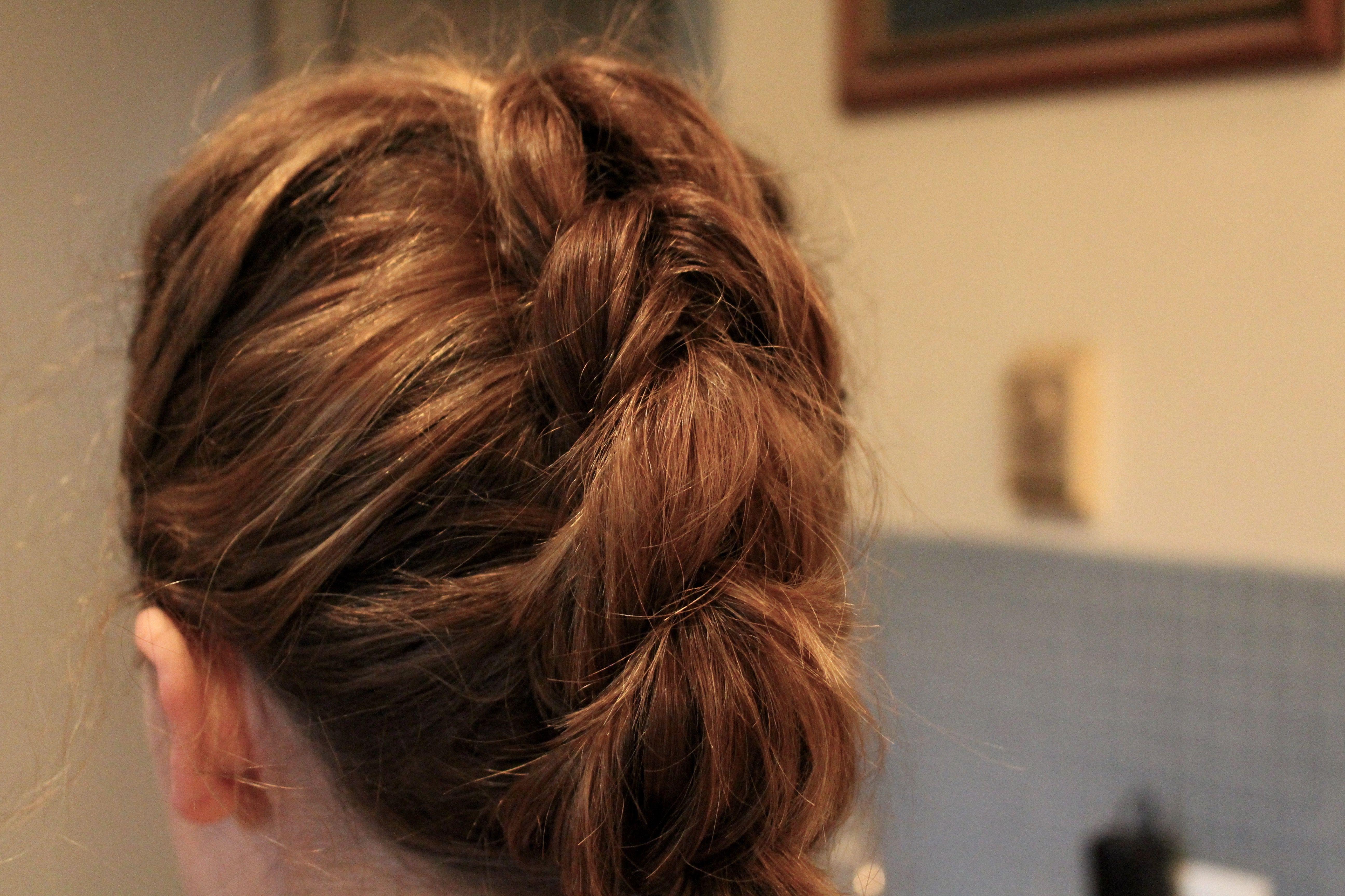 how to fake a big braid with shorter hair Hair Pinterest