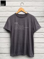 Cray Tshirt Cray Cray Shirt Word Definition Tee Streetwear Quote Tee Graphic Tees Statement Tees Trending Shirts  Funny Volleyball Shirts  Ideas of Funny Volleyball Shirt...