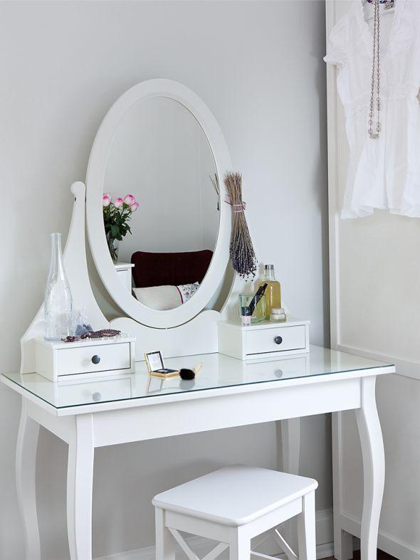 schminktisch von ikea im schlafzimmer - Ikea Schlafzimmer