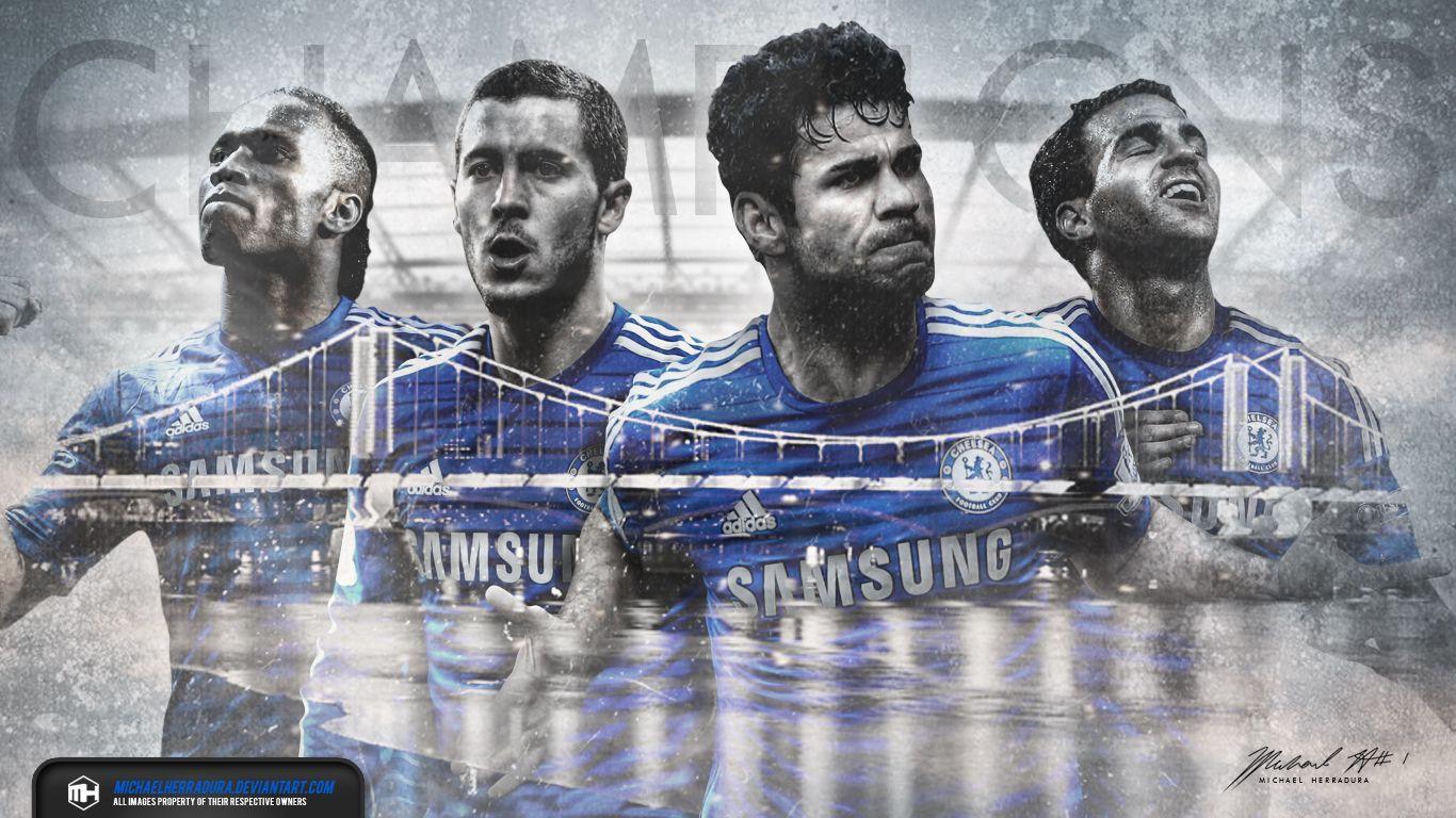 Chelsea Fc Champions Wallpaper By Michaelherraduradeviantartcom On