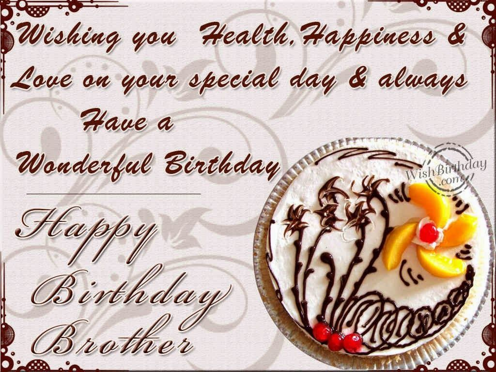 Birthday wishes for elder brother 10g 1024768 card pinterest birthday wishes elder brother happy big from little sister m4hsunfo Gallery