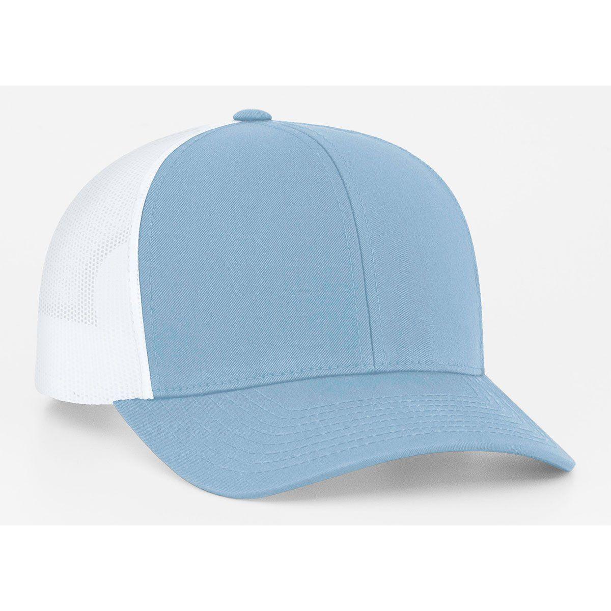 49efd2a5da2 Pacific Headwear Columbia Blue White Snapback Trucker Mesh Cap ...