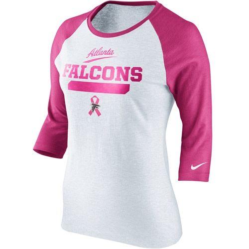 Atlanta Falcons BCA Crucial Catch Raglan #RiseUp | Falcons for Her  free shipping