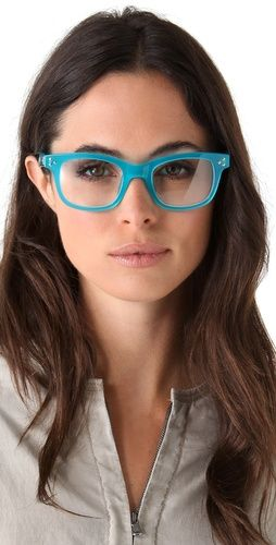 c73033804 Matthew Williamson Studded Thick Rimmed Glasses | Glasses | Pinterest