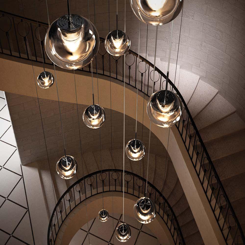 Licht Im Luftraum In 2020 Lampen Treppenhaus Treppenhaus Beleuchtung Treppe Haus