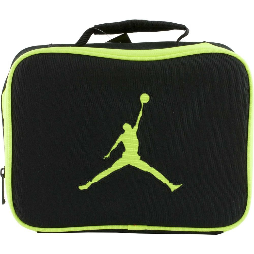 004ceab5a84 Nike Air JORDAN Jumpman Neon Volt Soft School Insulated LUNCH TOTE Bag Box   Nike  LunchBag