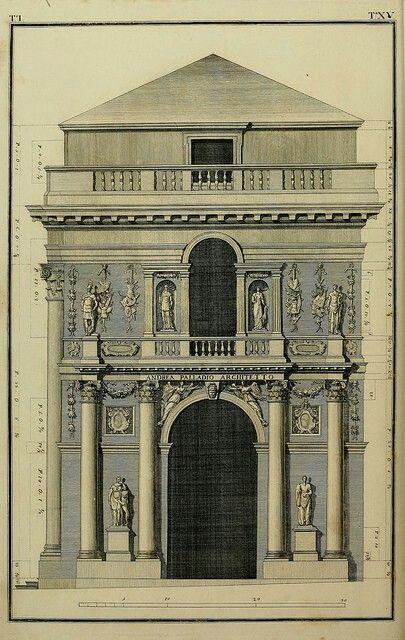 Disegni di Andrea palladio loggia del capitanato Andrea Palladio