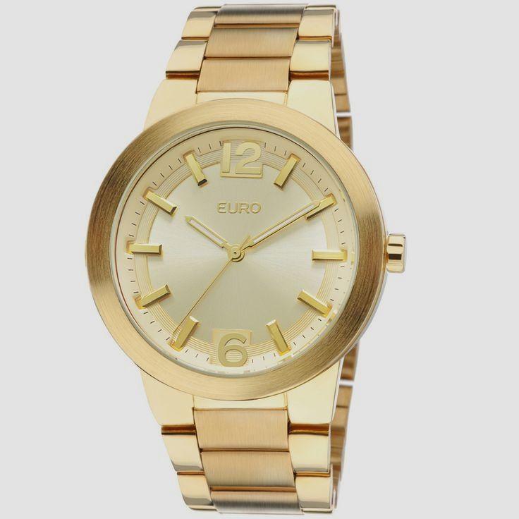 7f69cc675db Relógio Euro Feminino Analógico Plauen EU2036AIU 4D - Dourado - euro Relogio  Feminino हमारी साइट