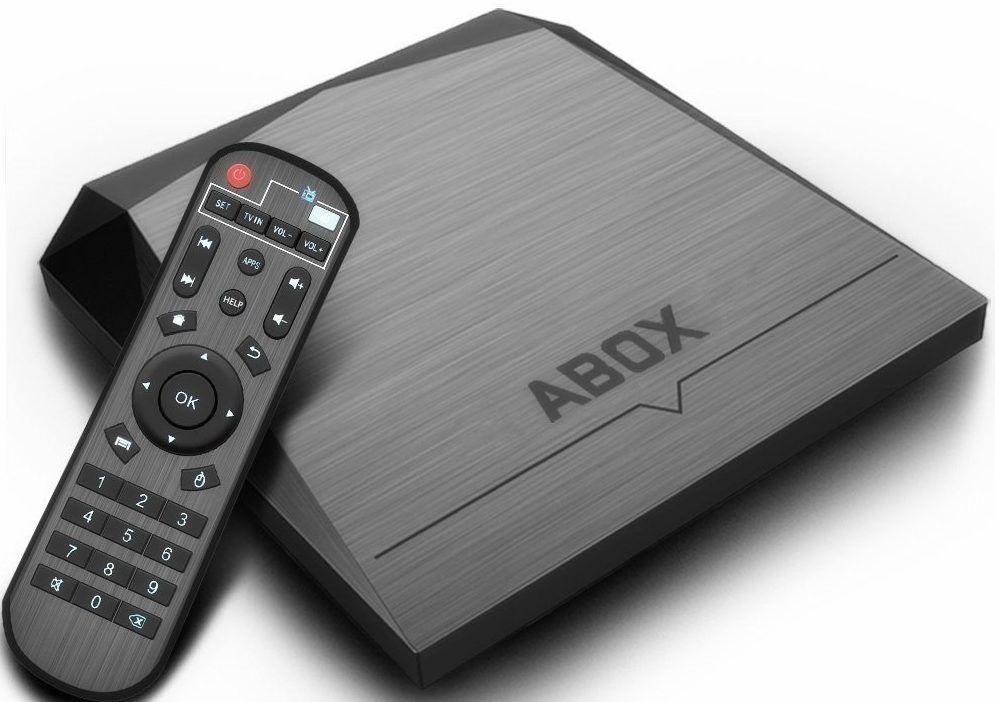 Media Streamers TV Box 2018 Model ABOX A1 max Android 7 1 Media ...
