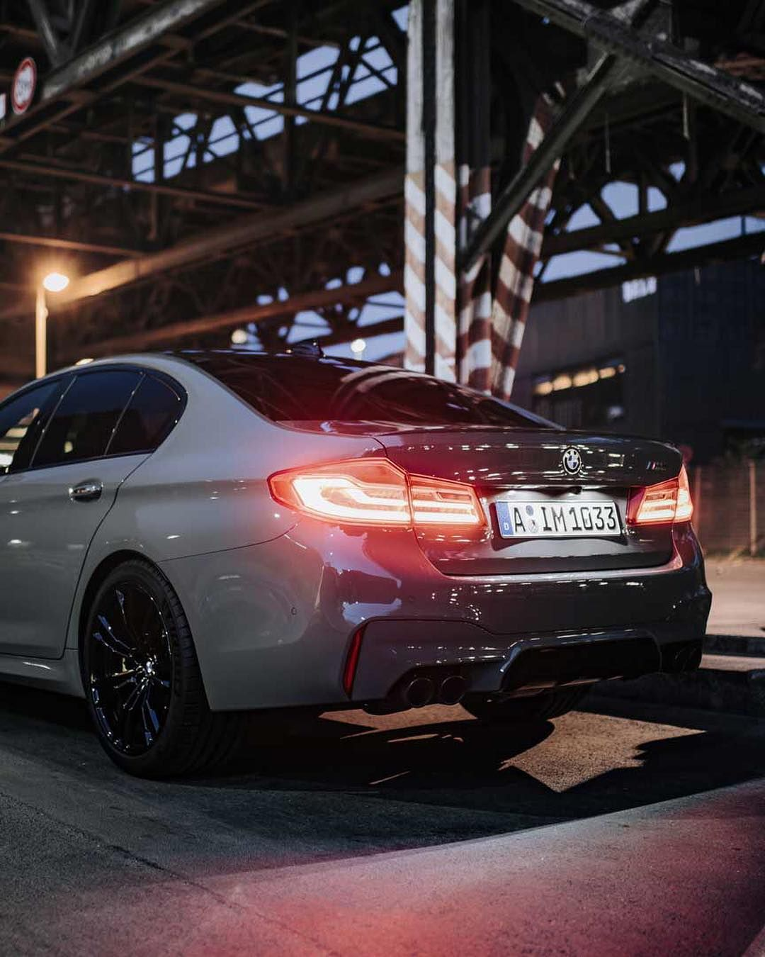 Bmw F90 M5 In Bmw Individual Grigio Medio With Images Bmw Bmw