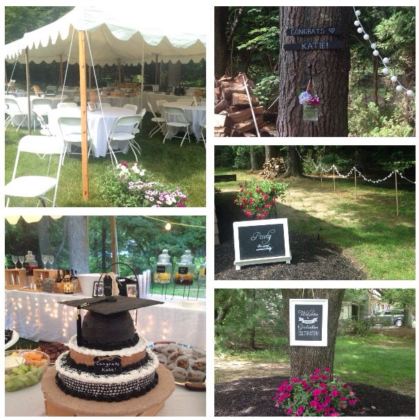 Rustic Graduation Party Wedding Country Outside