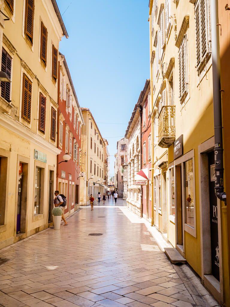 Old Town Of Zadar Croatia Zadar Croatia Places To Travel