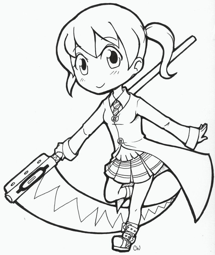 Soul Eater Coloring Pages 92401