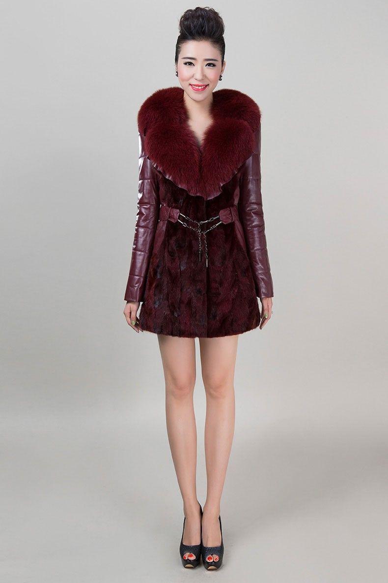 Fur coat-Balmain 2015
