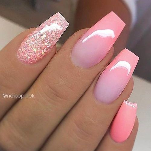 Best Ombre Nails For Fall 55 Fall Ombre Nails For 2018 Favhq Com Acrylicnails Ombre Nail Art Designs Nail Art Ombre Nails