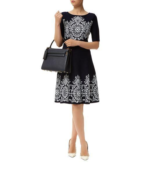 323fbcc77437 Women  Dresses St. John Jacquard Knit Dress