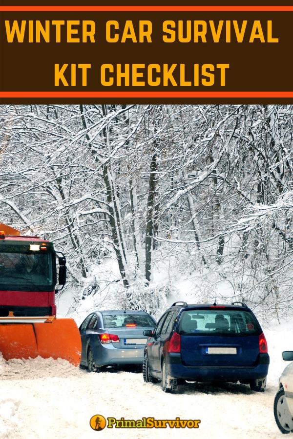 Car Essentials Emergency Winter Car Breakdown Kit