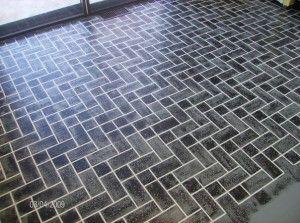Best Faux Brick Floor 300X223 Jpg Diy Flooring Flooring 640 x 480