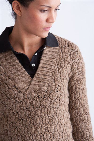 Thermal Pullover Knitting Pattern