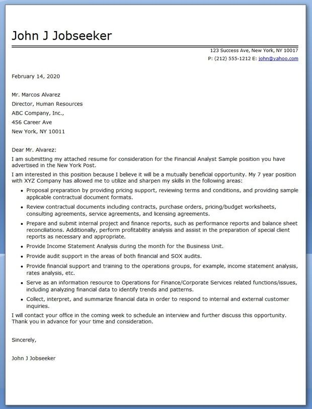 accounting analyst cover letter monte amp finance samples resume - sample system analyst resume