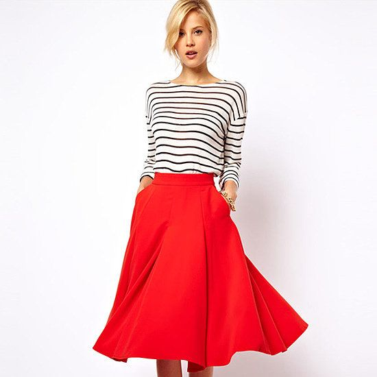 1000  images about Midi skirts - outfits on Pinterest | Skirts ...