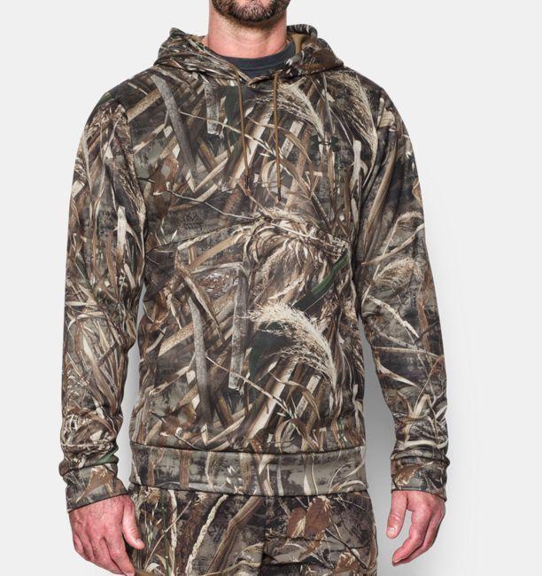 81f9ad4f5d158 Mens Under Armour Hoodie UA Storm Realtree Max-5 Camo Sweatshirt 3XL  1285582 #Underarmour
