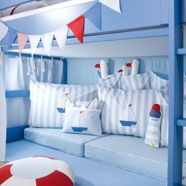 annette frank spielbett segelboot hochbett 90 x 200 cm mit maritim zimmer pinterest. Black Bedroom Furniture Sets. Home Design Ideas