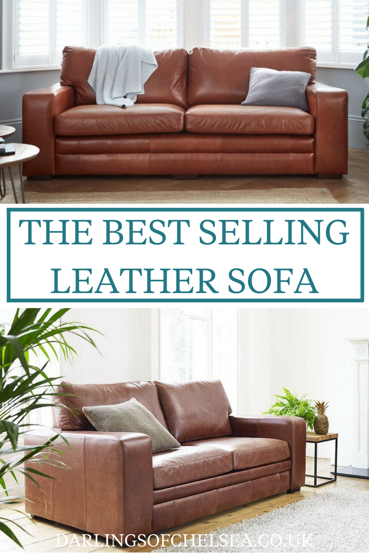 Leather Sofas Stand The Test Of Time They Re Still So On Trend And Por Right Now Sloane Sofa Is Our Best Er Comfortable Affordable
