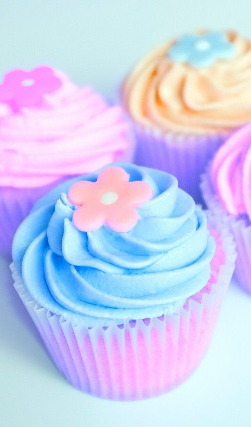 Cupcakes,art, Background, Beautiful, Beauty, Blue, Cake, Cream, Cupcakes,  Decor, Delicious, Design, Dessert, Eat Me, Flowers, Food, Inspiration,  Luxury, ...
