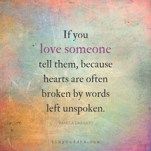 Hearts Are Often Broken By Words Left Unspoken Heart Pinterest
