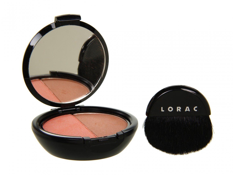 LORAC Cheek Duo Blush/Bronzer Duo Hot & Spicy (peach shimmer light bronze) NEW                      www.frans-cosmetics-bargains.ecrater.com FRANSCOSMETICSBARGIN