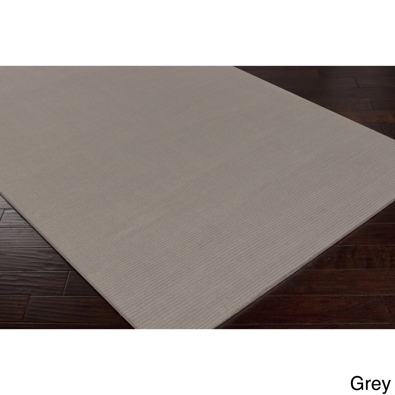 Hand Loomed Dalton Casual Solid Wool Area Rug 6 X 9