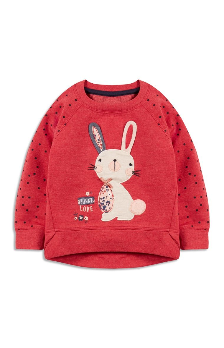 Primark - Red 3D Bunny Sweater | kids fashion-girls | Pinterest ...