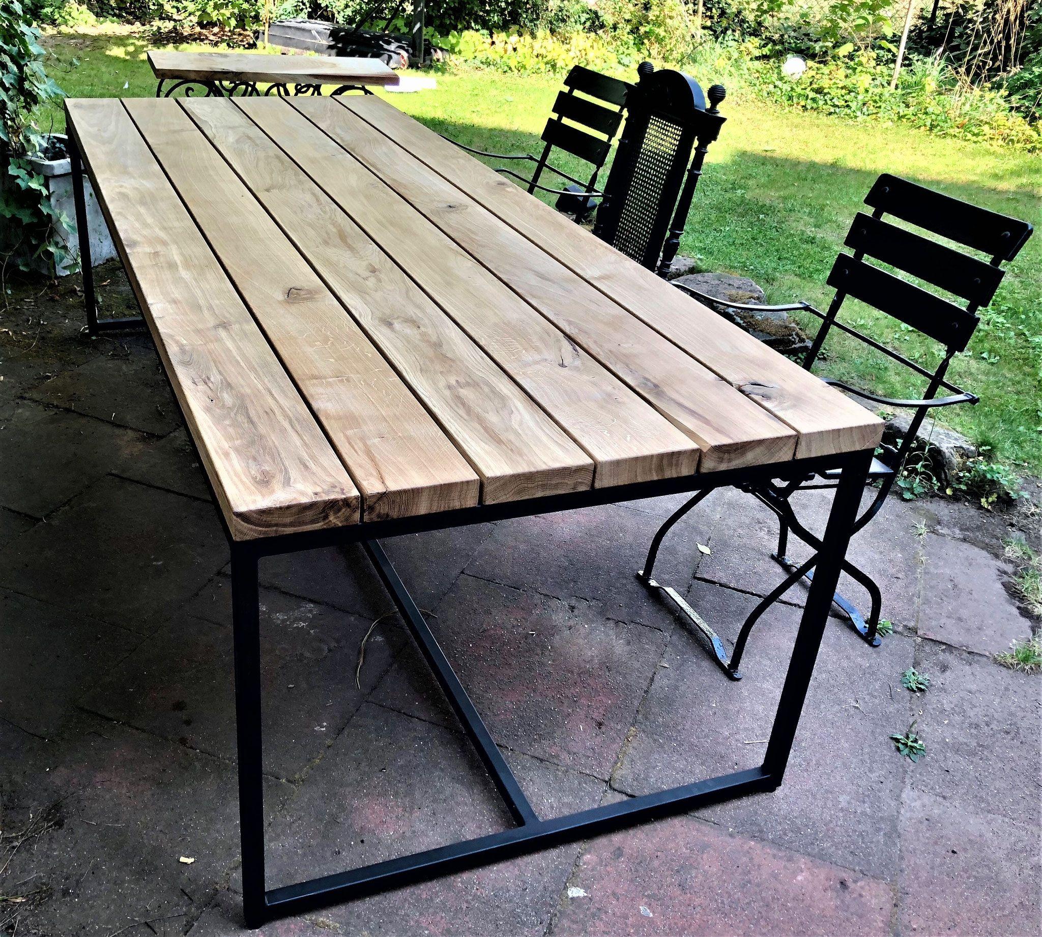 Unser Modernes Design In Altholz Eiche Aus Recycelten Fachwerkbalken Altholz Liebe In 2021 Gartentisch Terrassen Tische Holztisch Outdoor