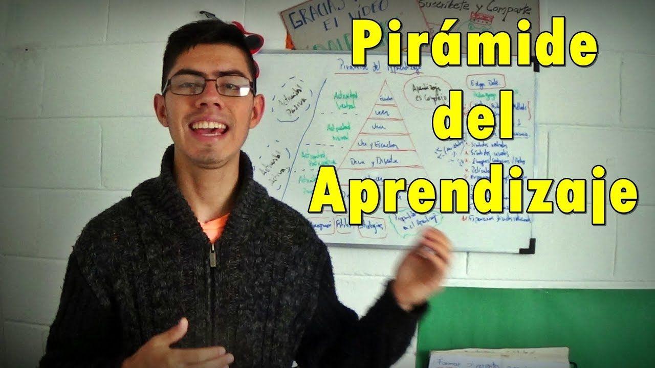 Pirámide del aprendizaje Aprendizaje, Tecnicas de