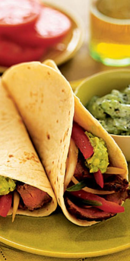 Steak Tacos with Simple Guacamole