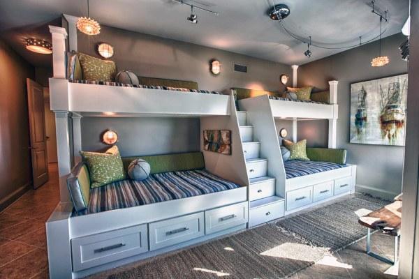 Top 70 Best Bunk Bed Ideas Space Saving Bedroom Designs Modern Bunk Beds Cool Bunk Beds Kids Bunk Beds