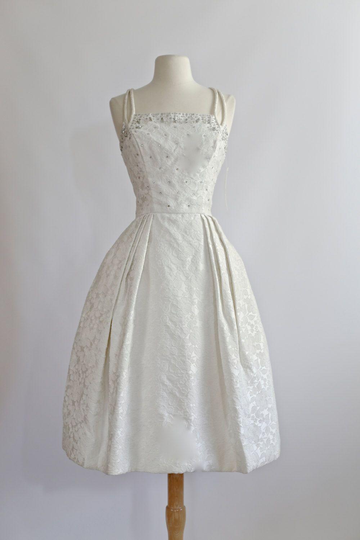 Vintage s wedding dress s wedding dress vintage s tea