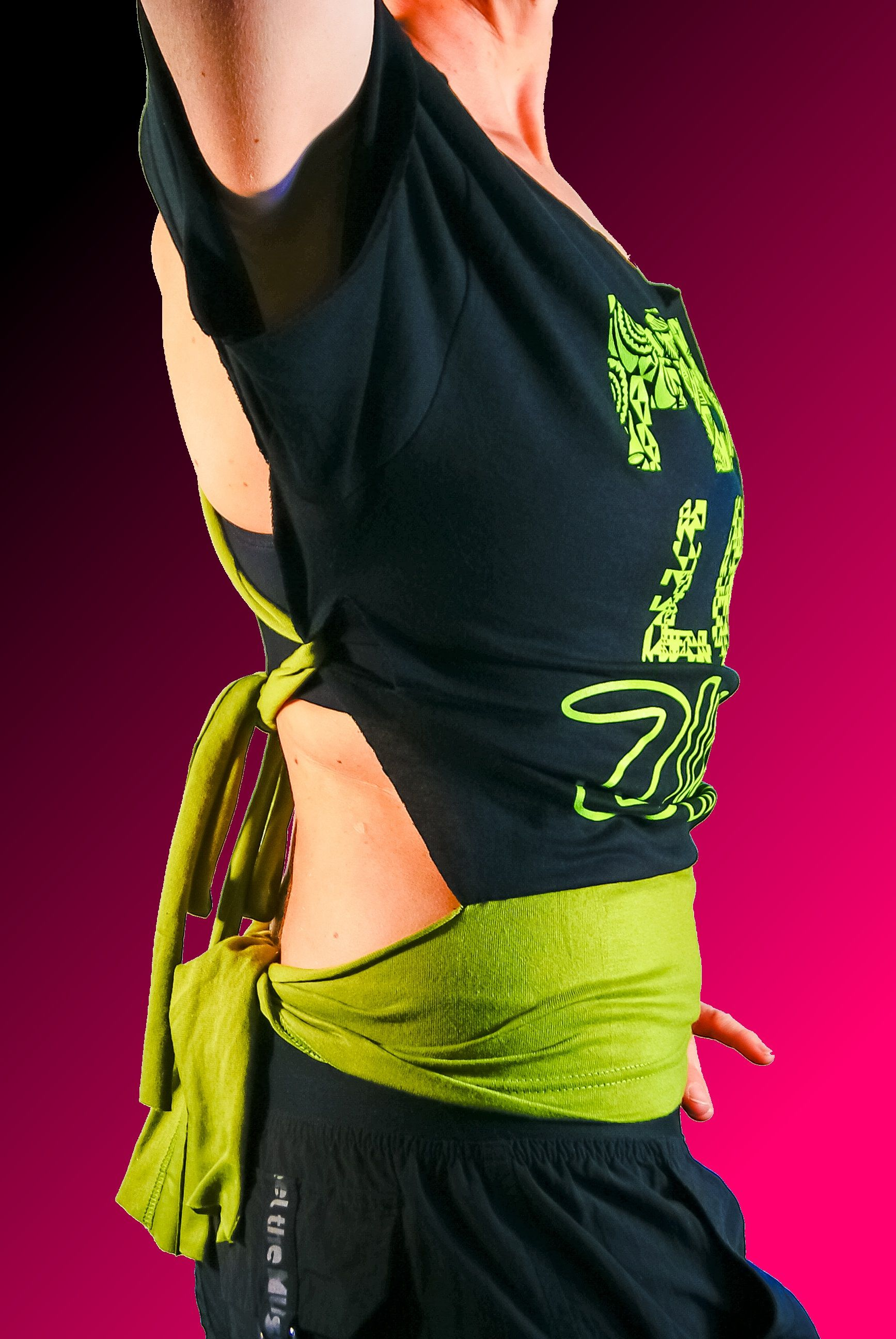 Zumba Love Peace two colors side
